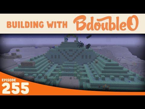 Minecraft :: Ocean Monument :: Building with BdoubleO :: Episode 255