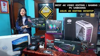 What is the best 4k video editing pc of 2019 / 2020 ? in this we test a computer onboxing from asus. check out list all components here:...