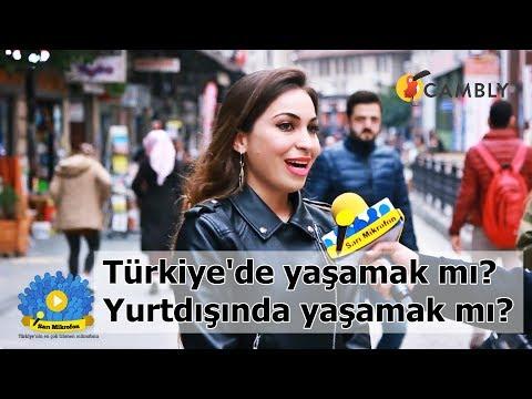 Türkiye'de yaşamak mı yurtdışında yaşamak mı? SARI MİKROFON