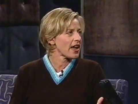 Late Night with Conan O'Brien | 1996 09 25   Ellen DeGeneres, Daisy Fuentes, Paul Lukas