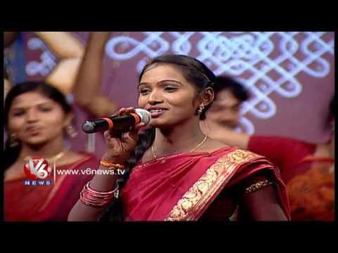 Chinni Chinni Danive O Pilla Song | Telangana Folk Songs | Dhoom Thadaka | V6 News