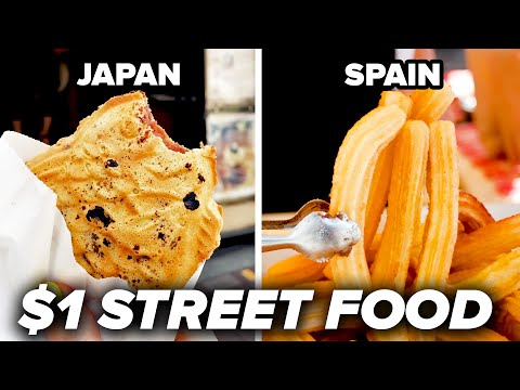 DJ Jimi O - Street Food for $1 in the World!!
