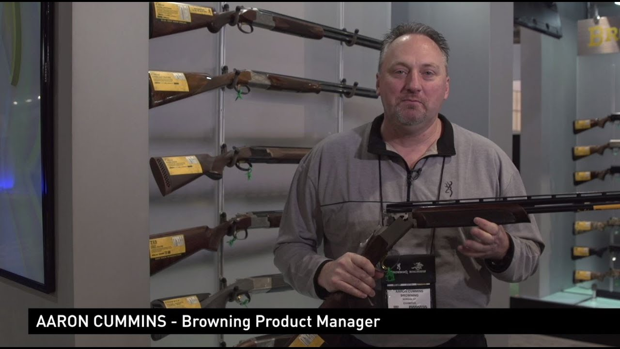 Citori 725 - Small gauges detailed by Aaron Cummins at SHOT Show - :39 HD