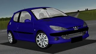Peugeot 206 1.4 HDI drive (Links) - Racer: free game