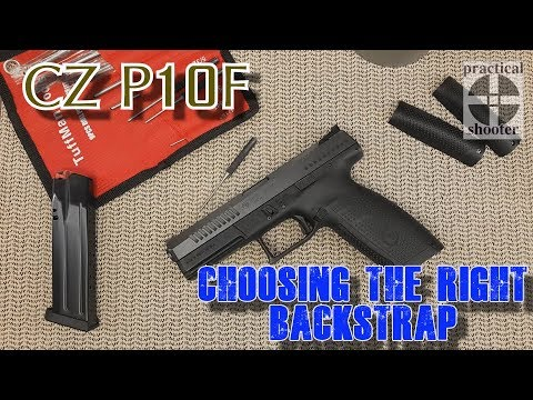 How to choose the right BackStrap for your CZ P10
