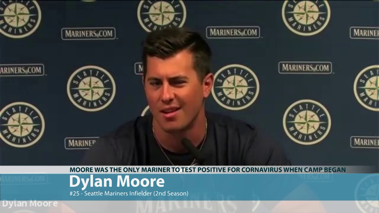 Mariner Dylan Moore on Waiting out COVID 2020-07-21