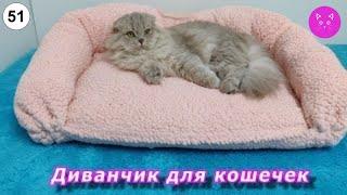 🐈 Диванчик для кошечек. #Love&Meow #кошки #котята #прикольные #веселые #сделайсам 🐈