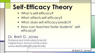 Self-Efficacy Theory v1