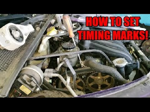 How to set timing marks belt removal 2001 2010 chrysler pt how to set timing marks belt removal 2001 2010 chrysler pt cruiser sciox Images