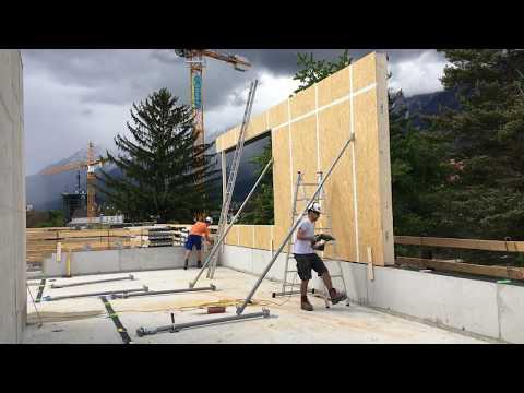 Kurzfilm von der Hospizhaus-Baustelle