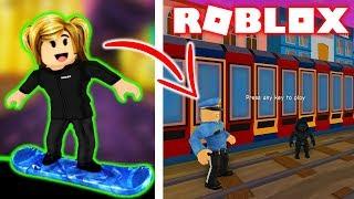 UCIEKAMY PRZED POLICJĄ PRZEZ 24H | ROBLOX #admiros