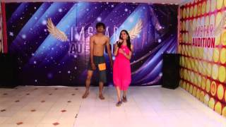 "Gangster ""Bheegi Bheegi Si Rate""  IMSTAR Auditions Mehsana Dharmik Rami No. 292  Contemparory Dance"