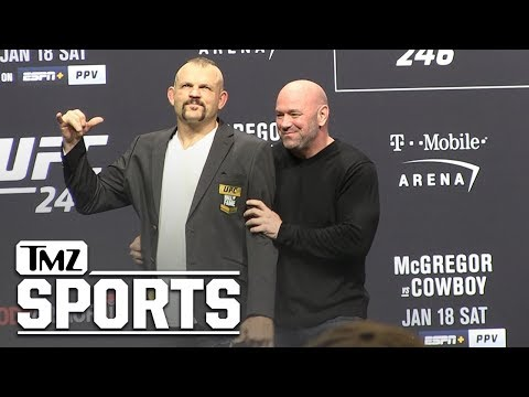 Chuck Liddell Gets His UFC Hall of Fame Jacket From Dana White | TMZ Sports