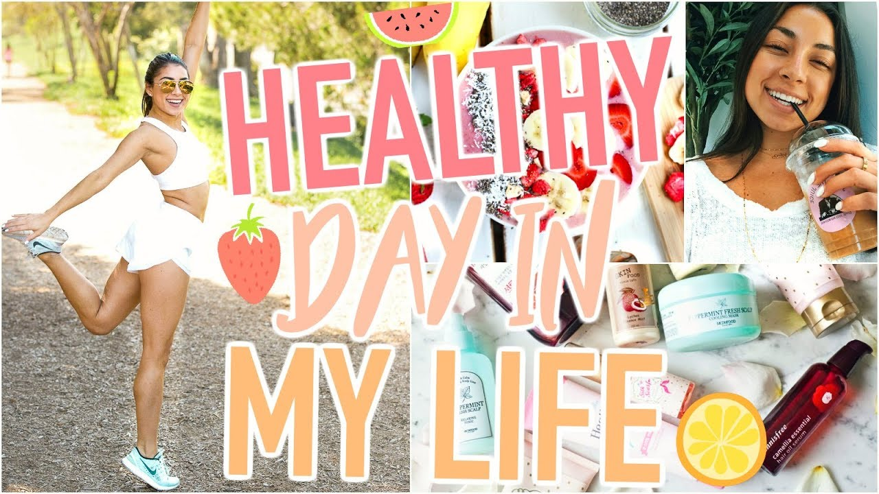 <div>HEALTHY Day In My Life – What I Eat, Full Workout, Skincare Routine, & Makeup Hacks, & More!!</div>