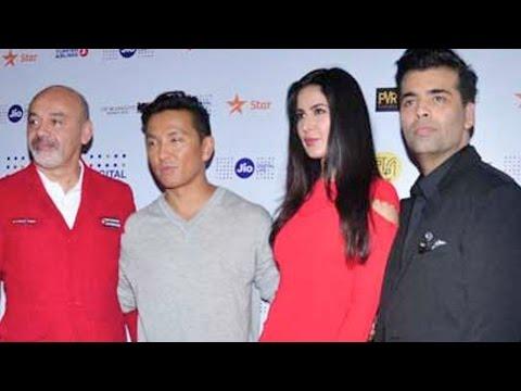 Karan Johar, Katrina Kaif, Prabal Gurung And Christian Louboutin At MAMI Film Festival