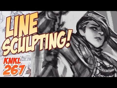 KNKL 267: How to LINE SCULPT!