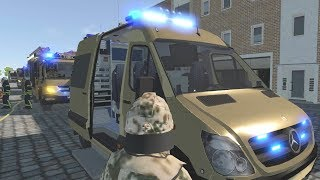 Emergency Call 112 - NATO Firefighters Responding Gameplay! 4K
