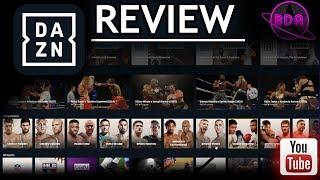 DAZN Canada Review (By King Bucho)