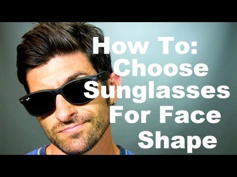 51f87d5cebf7 Face Shape and Sunglasses: How To Choose The Best Sunglasses For ...