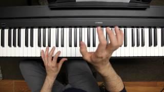 Shout Hallelujah Piano Tutorial