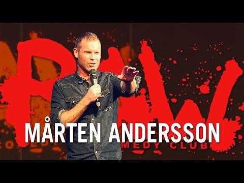 Mårten Andersson om att Gina Darawi är ny julvärd på SVT  RAW COMEDY