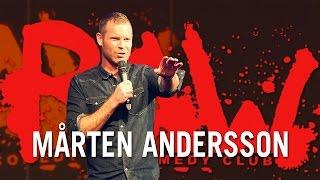 Mårten Andersson om att Gina Darawi är ny julvärd på SVT | RAW COMEDY