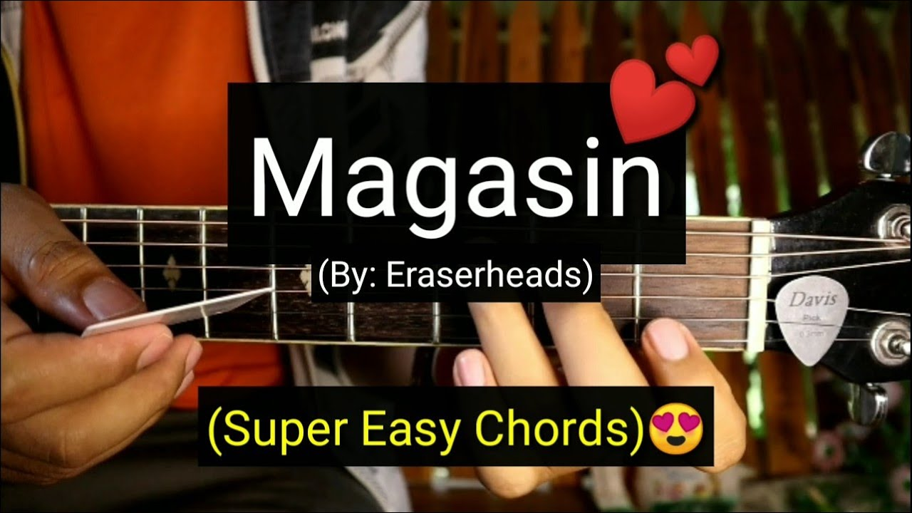 Magasin - Eraserheads (Super Easy Chords Guitar Tutorial)
