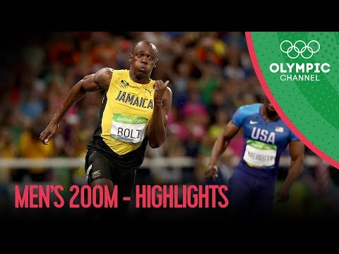 Usain Bolt wins third Olympic 200m gold