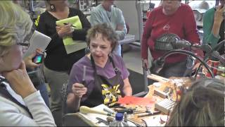 Pauline Warg, Making Metal Beads