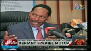 Ezekiel Mutua faults immigration move to revoke passport