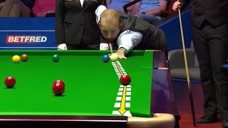 Mad Snooker Skills !!!  -- World Championship 2018