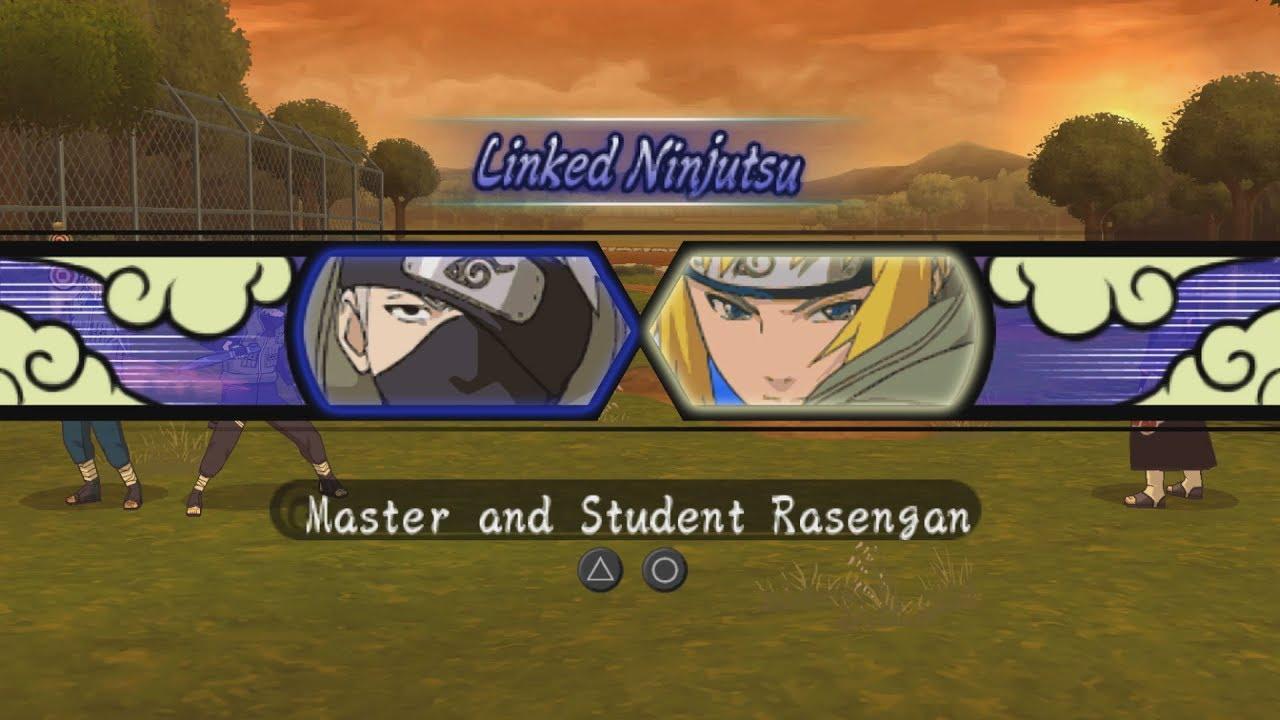 Download Naruto Ultimate Ninja Heroes 3 All Linked Ninjutsu Team Jutsu 1080p 60 FPS