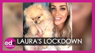 Love Island Lockdown: Laura Anderson In Isolation!