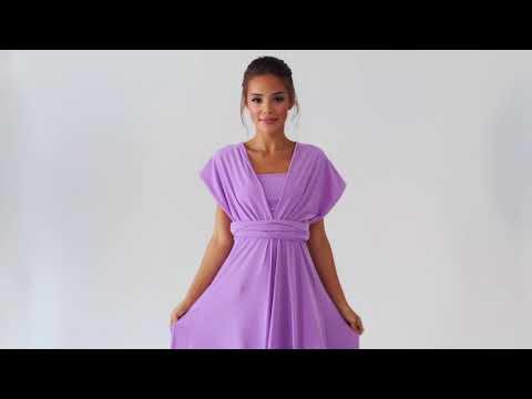 Способ завязать платье-трансформер