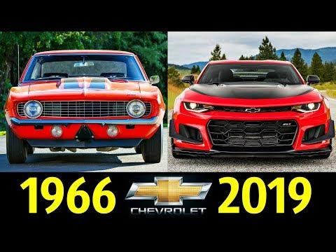 Chevrolet Camaro - Эволюция (1966 - 2019) ! История Модели !