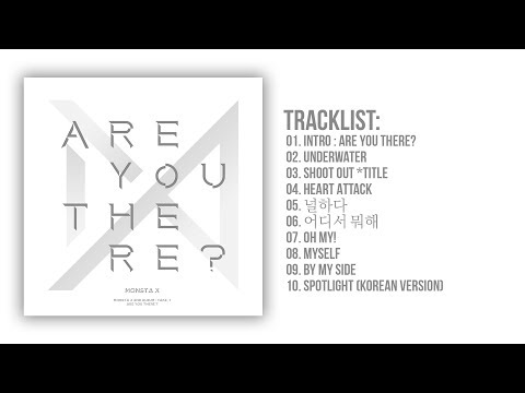 MONSTA X 몬스타엑스 - Are You There? 2nd