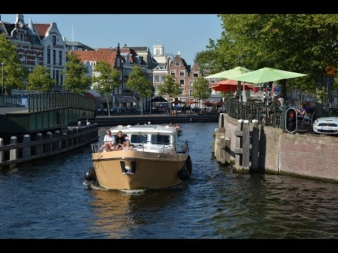 Canal Boat Rentals in Holland Haarlem