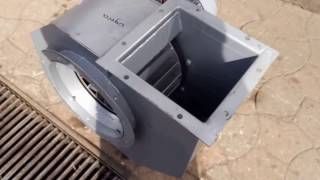 видео Вентилятор ВДН-12,5-1500