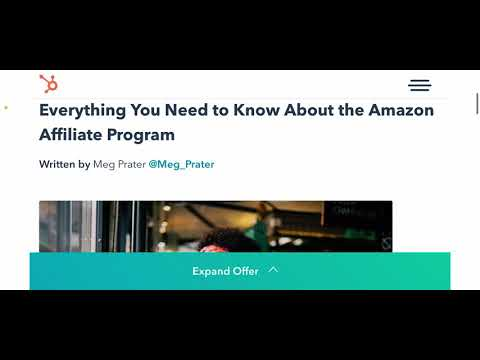 Amazon affiliate marketing for beginners in 2021 | Affiliate marketing guide