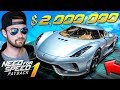 Driving A $2,000,000 Hyper Car - Need For Speed: Payback Gameplay #1