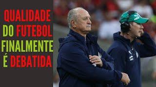 Derrota do Palmeiras para o Fla derruba Felipão e abre os olhos de quem se recusava a ver o óbvio
