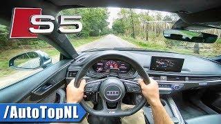 2019 Audi S5 Sportback 3.0 TFSI Quattro POV Test Drive by AutoTopNL