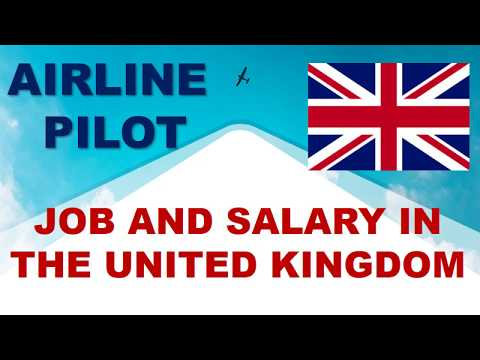Airline Pilot Salary In The UK - Jobs And Wages In The United Kingdom