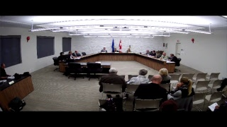 Town of Drumheller Council Organizational Meeting of October 30, 2017 after incamera session