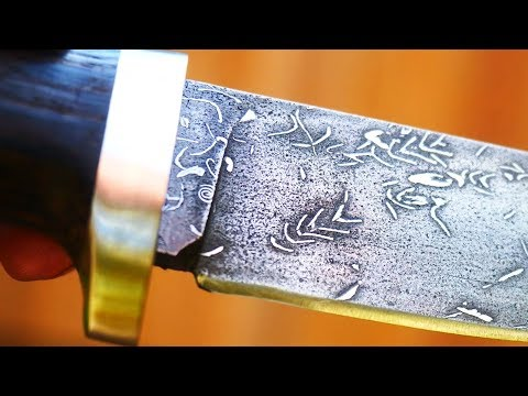 Forging The Drill Spiral Knife 2.0.