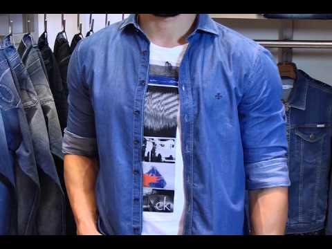 Moda em Evidência: Camisa jeans masculina [Programa Evidência - 17-04-2015]