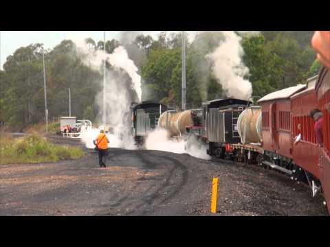 "BB18 ¼ 1079 and AC16 221A - ""Edser's Express"" 1000th ARHS Tour - 6/12/2014"