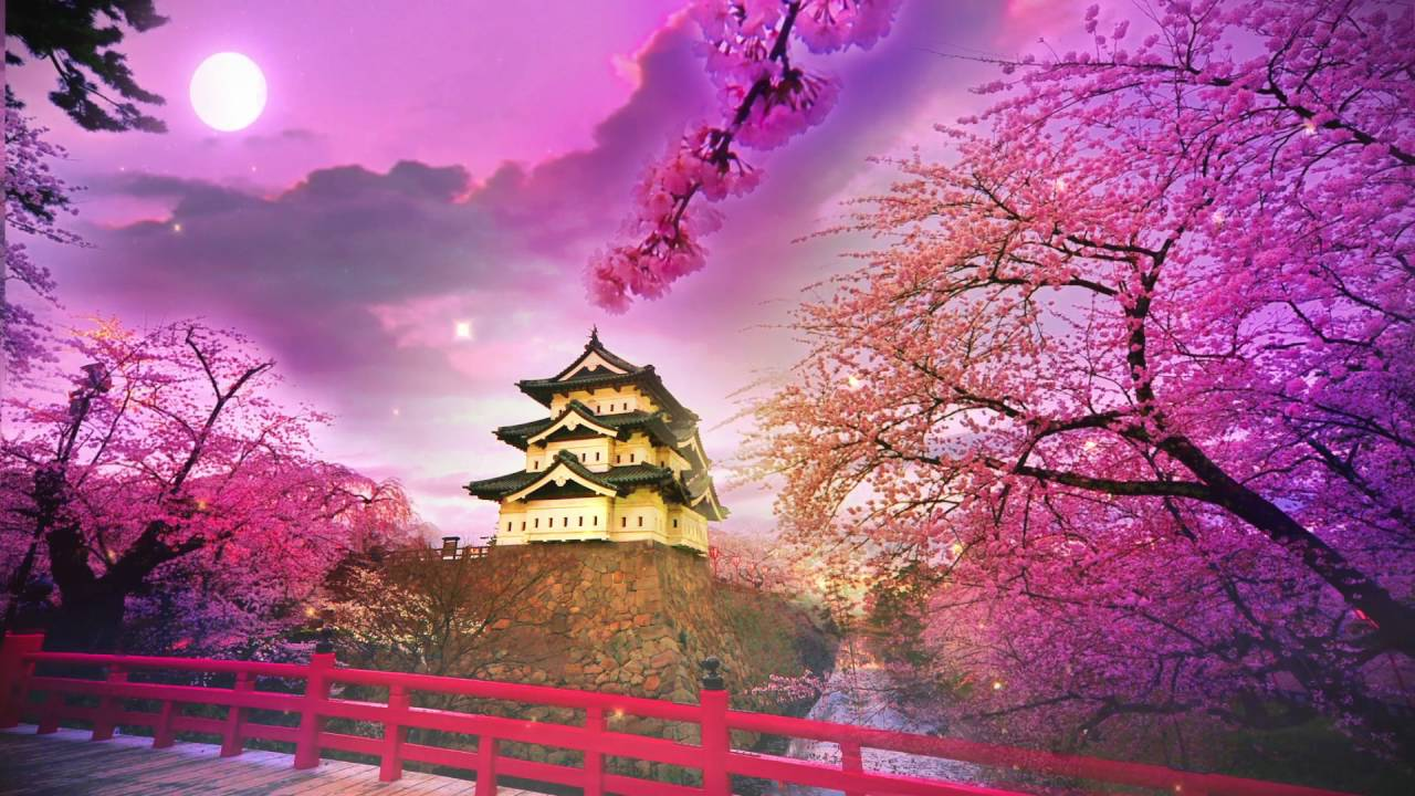 Japan animated wallpaper hd background animation gfx - Nature japan wallpaper ...