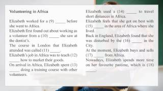 FCE First Certificate in English Listening Test | Part 2