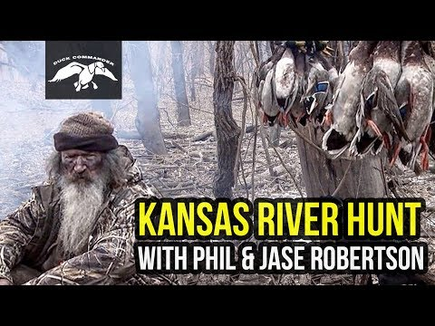 Kansas River Hunt With Phil And Jase Robertson FULL EPISODE